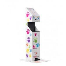 Stand dozare gel pentru dezinfectarea mainilor - KIDS Version
