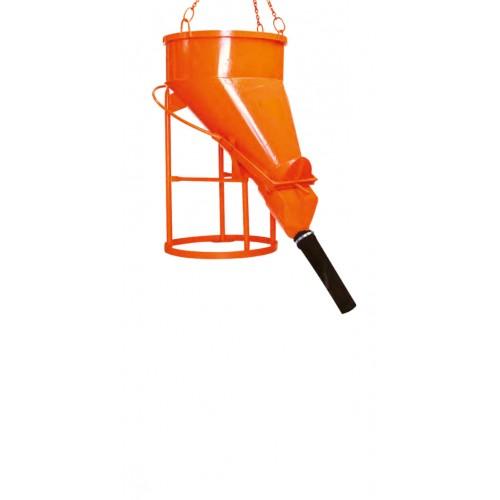 Bena pentru beton cu descarcare laterala -1023