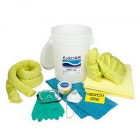KIT de urgenta scurgeri de substante chimice - 39 l