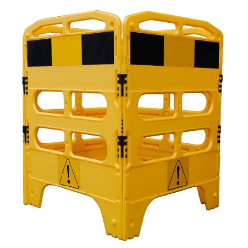 Bariera modulara imprejmuire canal - Gardian yellow