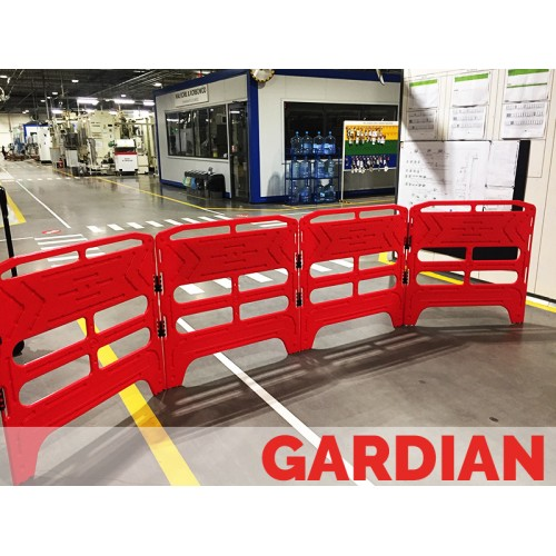 Bariera modulara imprejmuire canal - Gardian Red