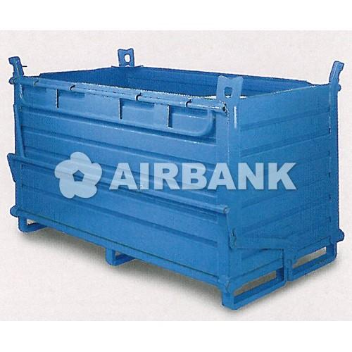 Container metalic cu autogolire pentru deseuri