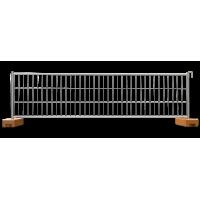 Gard mobil organizare santier cu suport beton 1m H