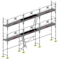 Schela profesionala din otel - DUO 45 - 60 m2