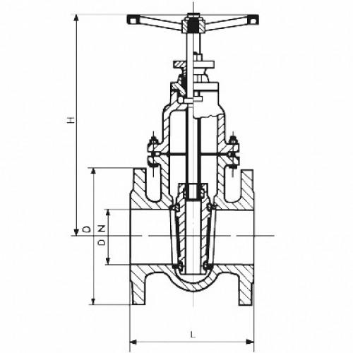 Robinet industrial PN 10 filet interior